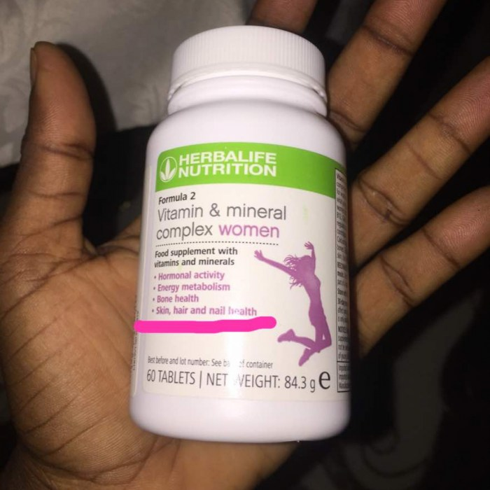 Herbalife - Vitamin and Mineral Complex for Men and Women