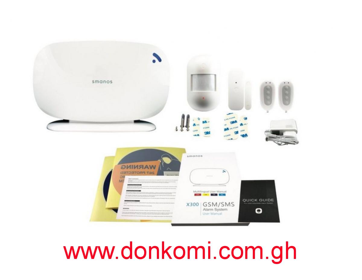 Smanos X300 GSM/SMS Alarm System