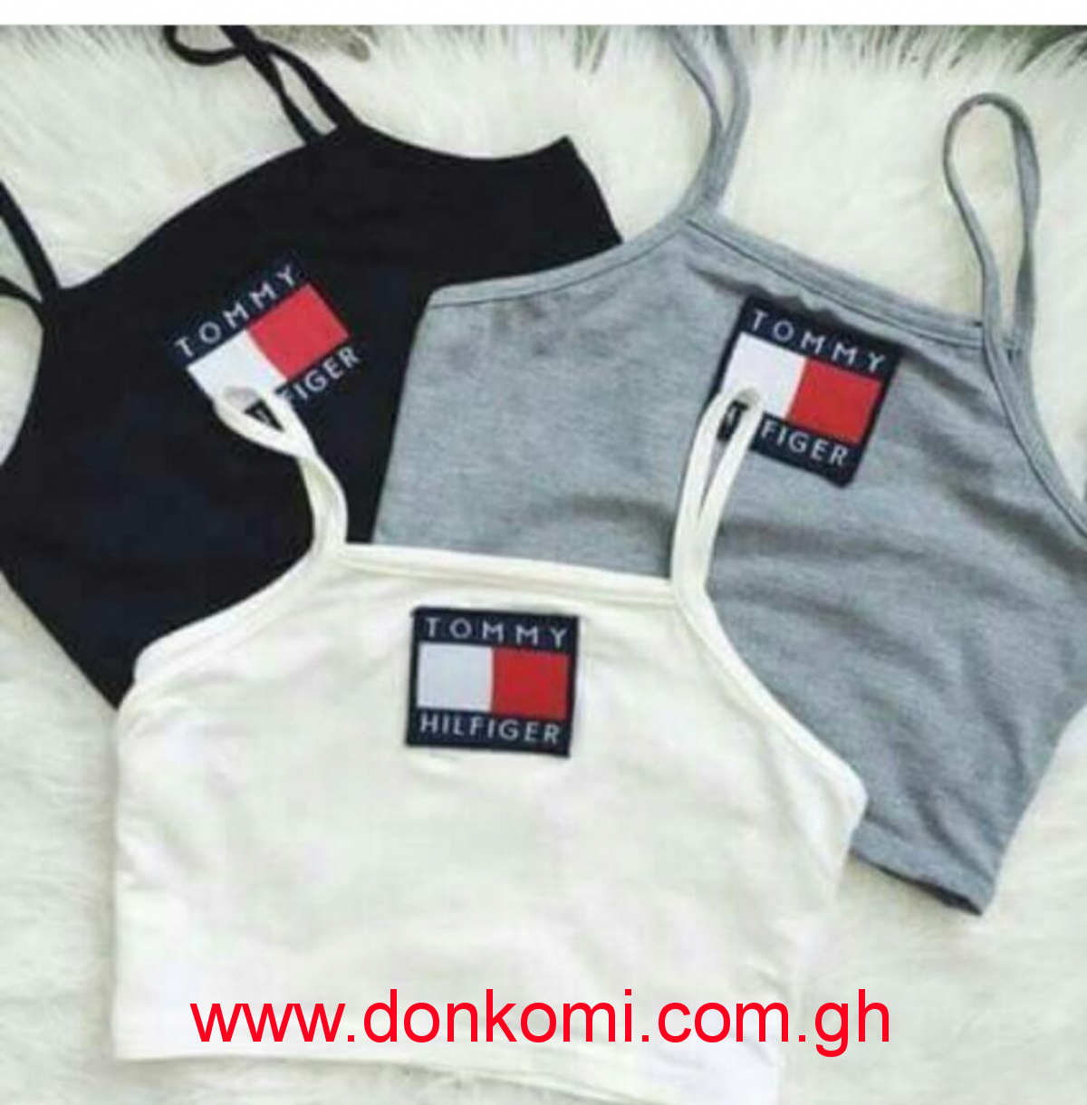 Tank tops for ladies - Tommy Hilfiger (Colour White)