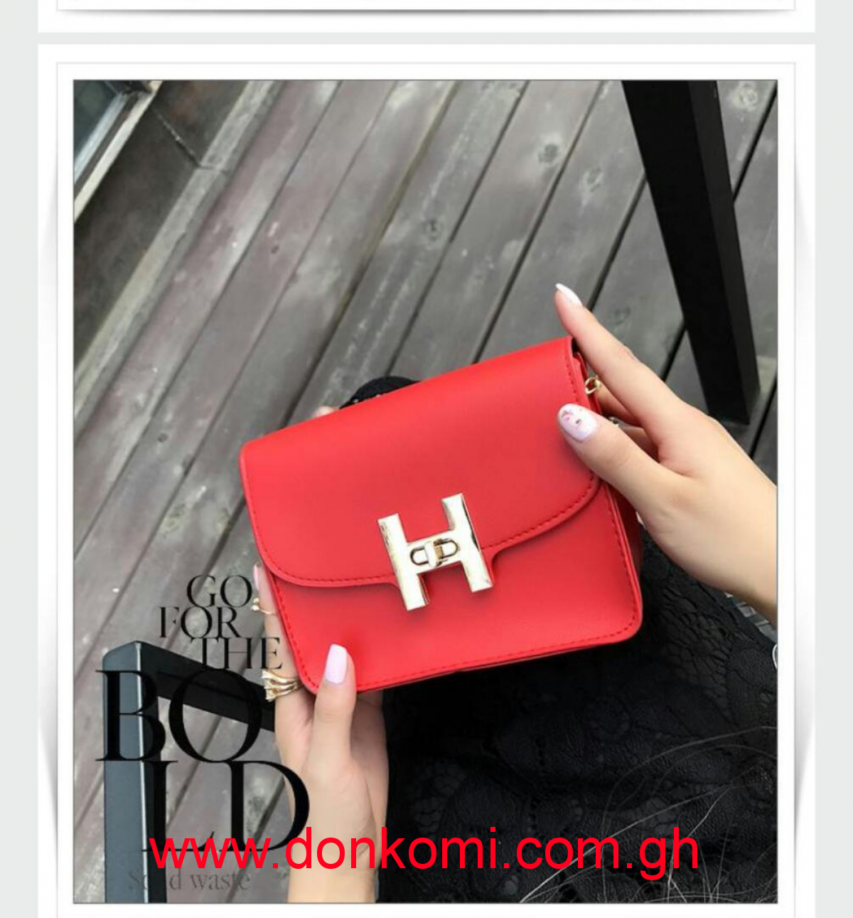 Red Side Bag