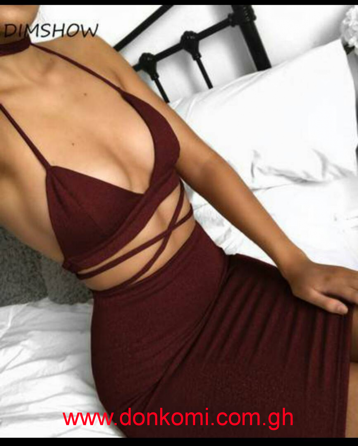 two pieces set women clothing sexy crop tops and pencil skirt spaghetti strap two pieces outfits