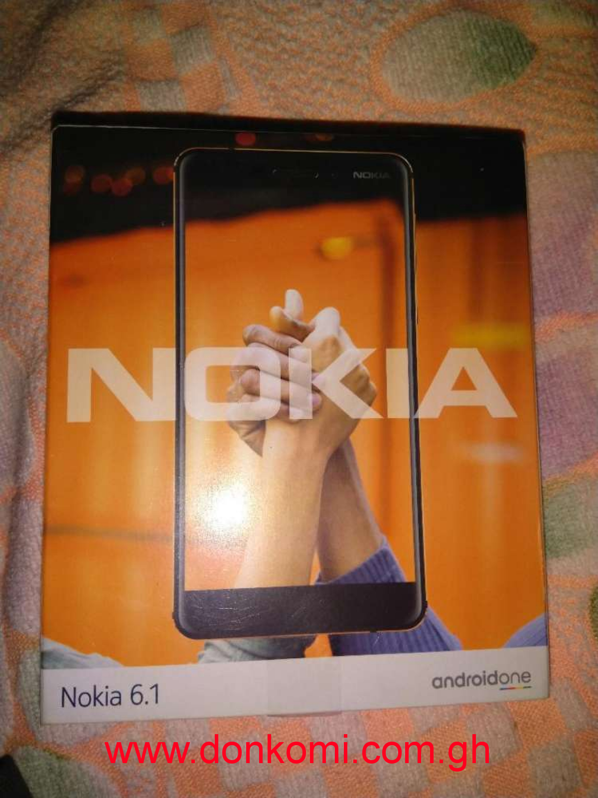 Nokia 6.1 (2018) only two days used for ghs 1000 only.