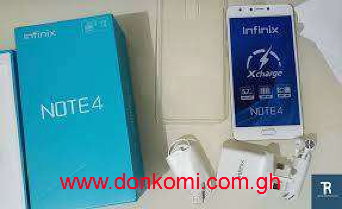 Infinix Note4 sealed in box