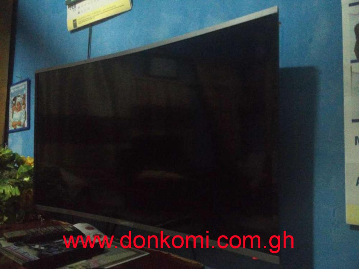 43 inch curved led nasco tv