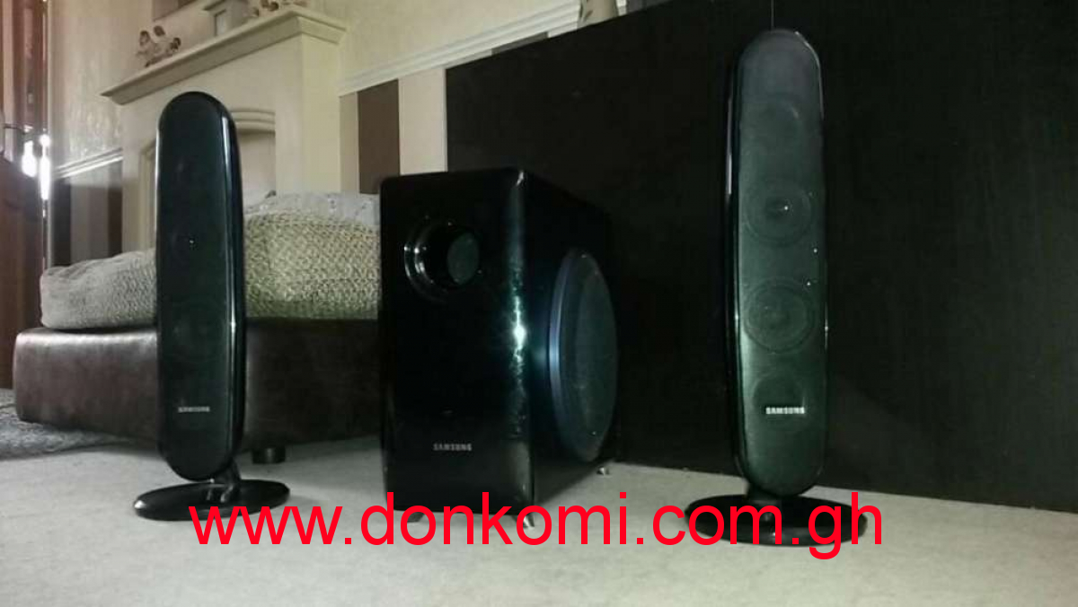 Samsung subwoofer and speakers