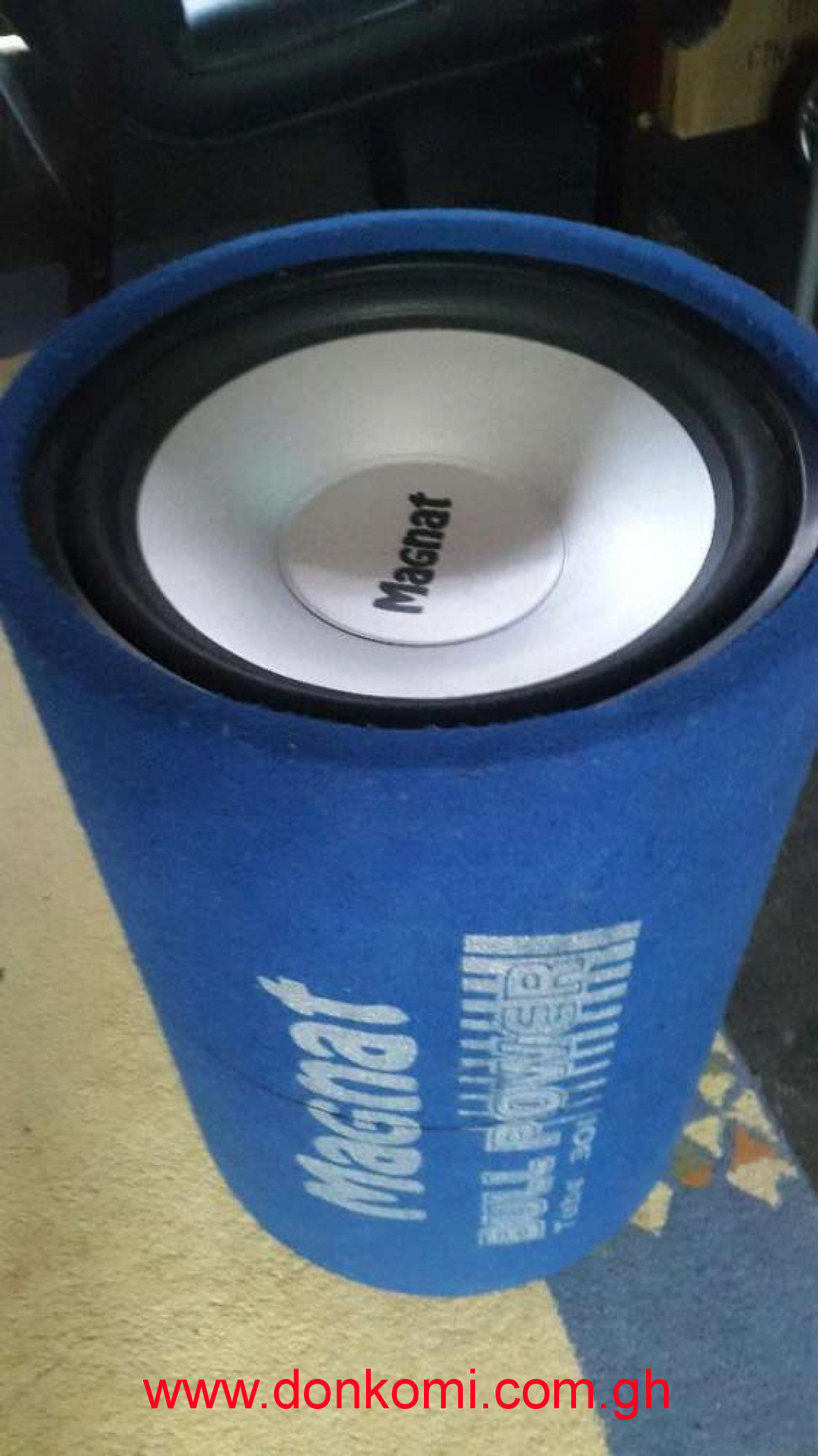 "Powerful 12"" magnat car woofer"