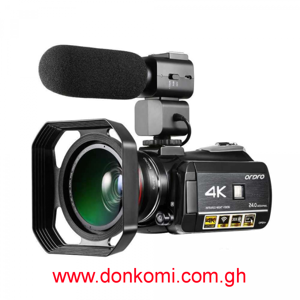 AC3 4K professional 1080P wifi digital night vision Camcorder/Camera