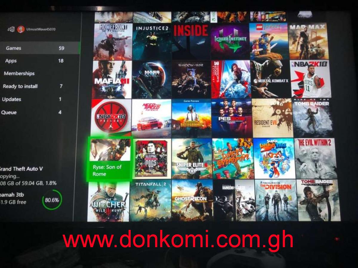 Updated xbox one offline games