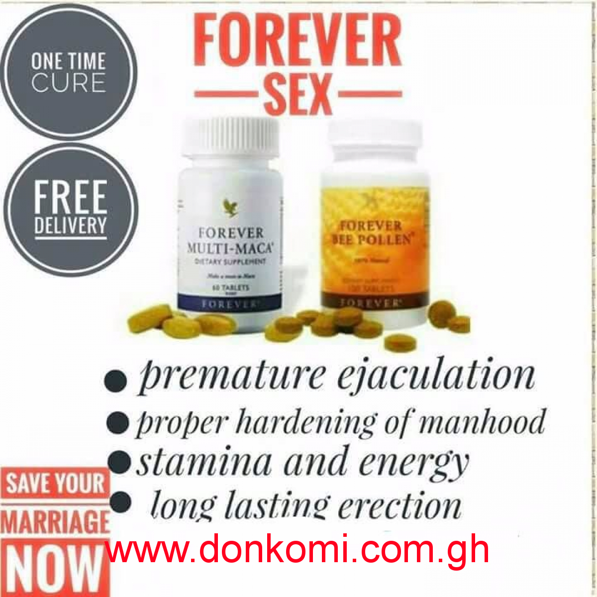 Supplement for sex boosting