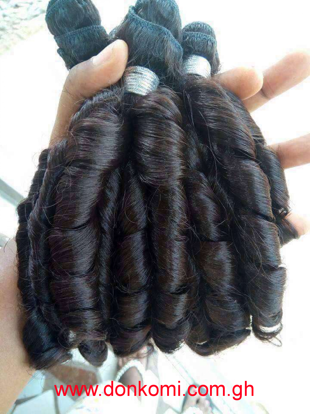 Quality egg roll hair pieces available 14""