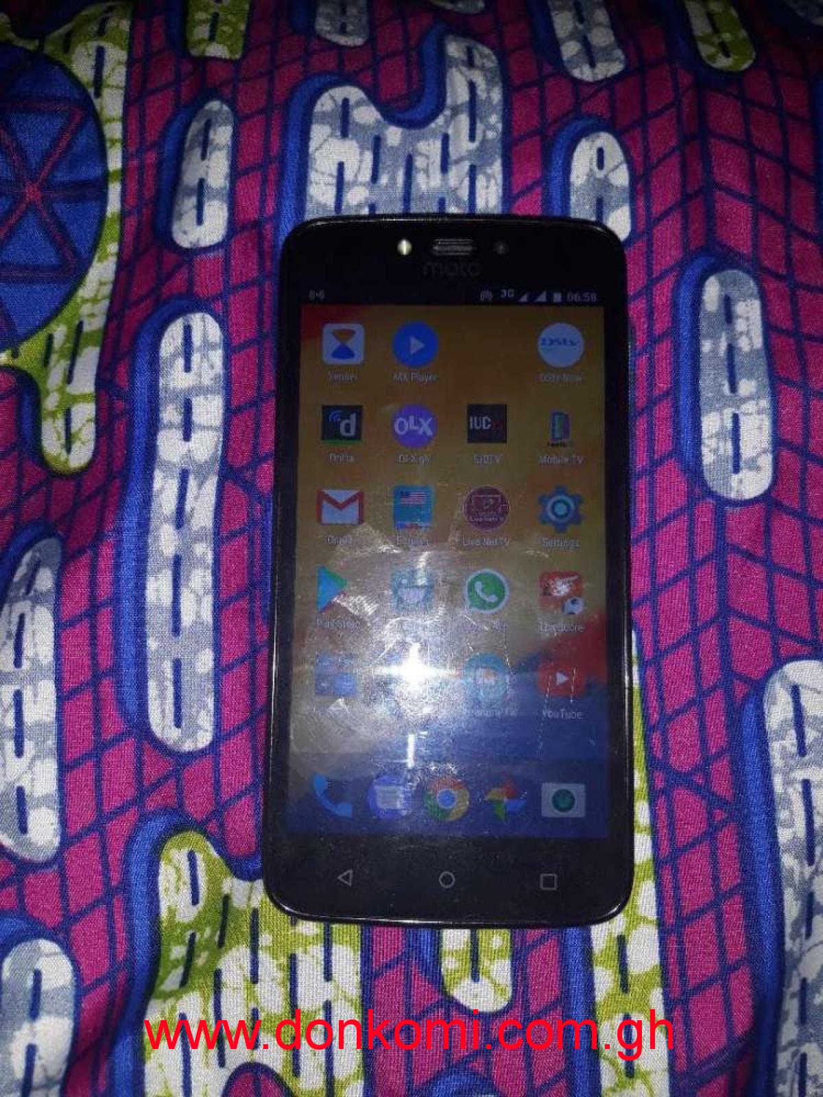 Motorola C plus 4g phone