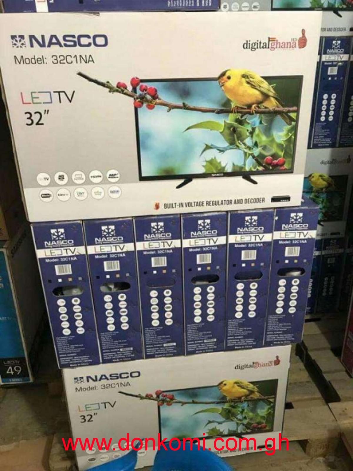 """New Nasco 32 """"inches Satellite TV,LED Screen"""