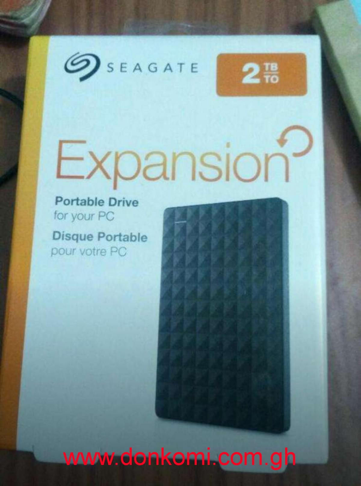 2 Terabytes External hard drives
