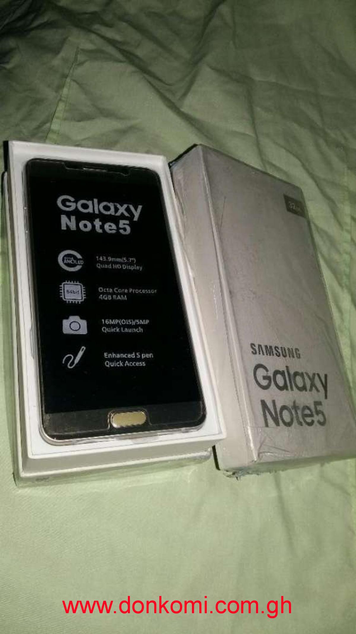 Brand new Samsung Galaxy note5