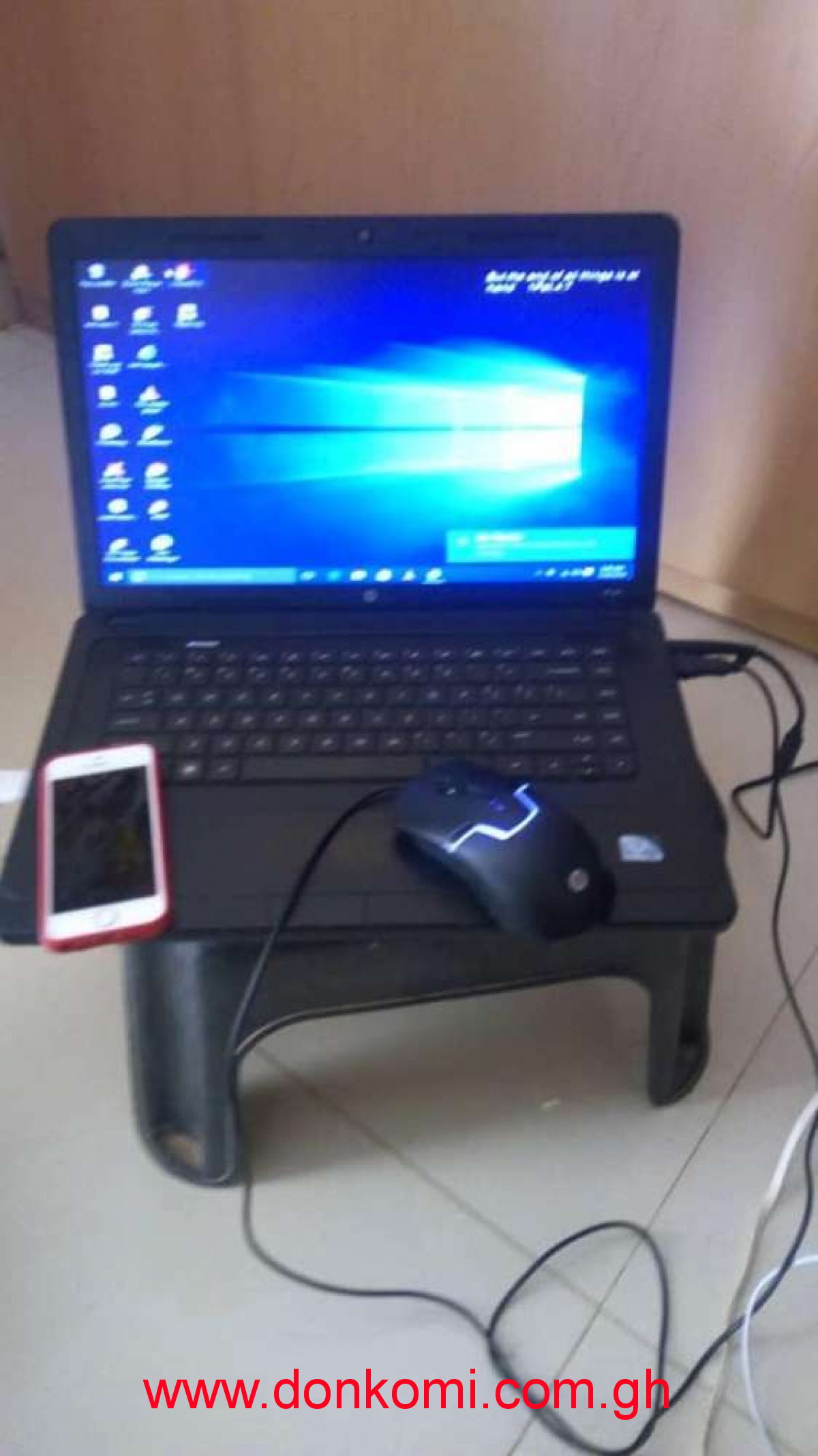 Am selling an iPhone with a laptop together