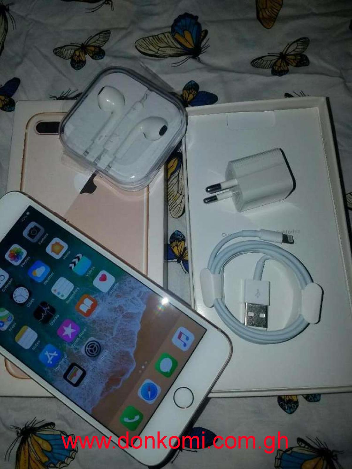 I phone 8 plus gold 256Gb