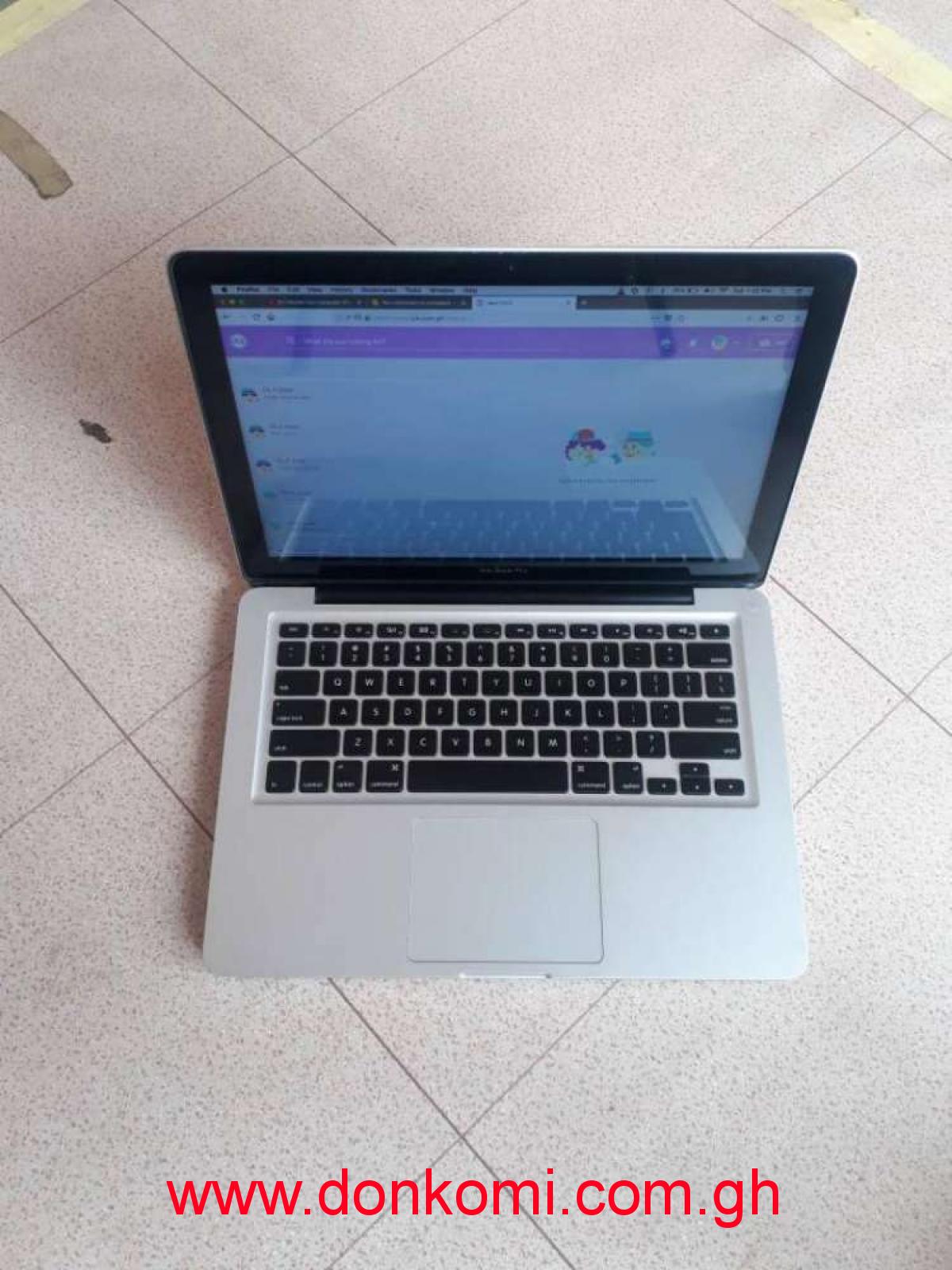 Macbook pro. Intel core i5.
