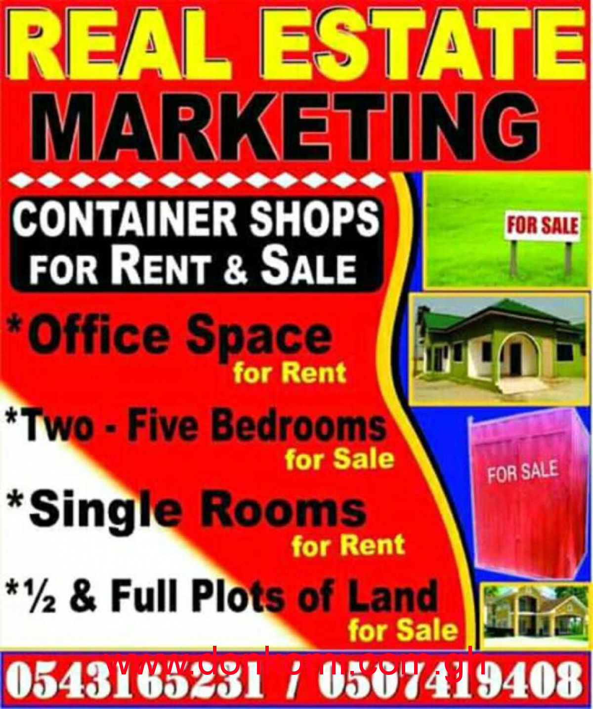 Container shop for rent at Ahenkofi