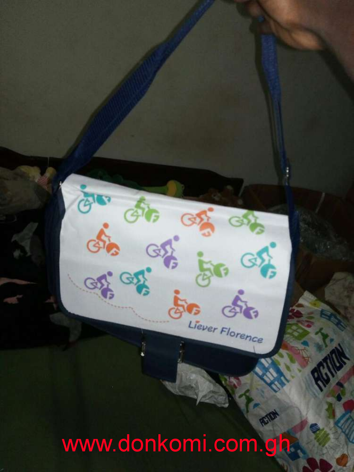 Original authentic laptop bag can be use as school bag too