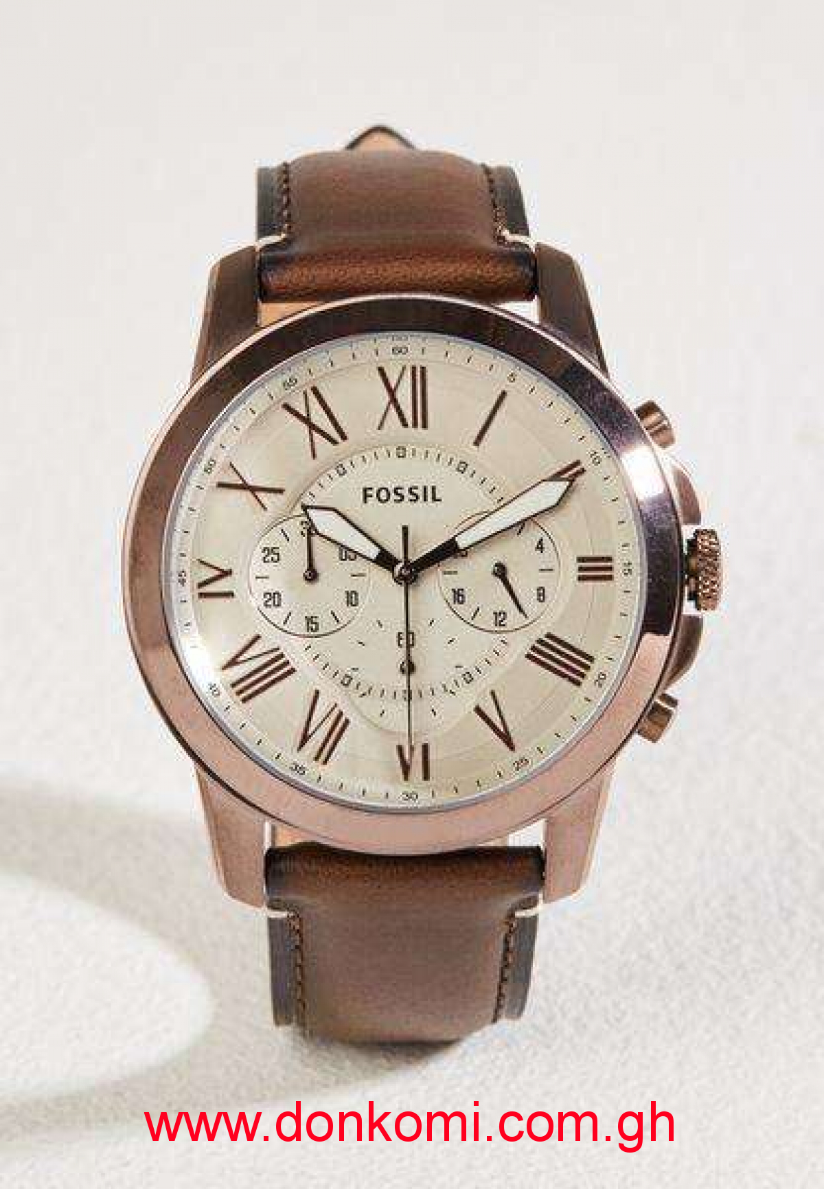 Fossil Leather watch FS5344