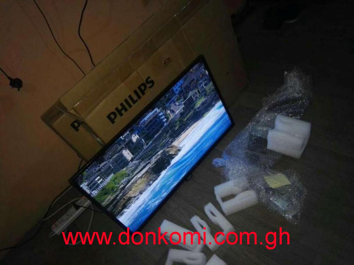 New in box Philips led tv 32 inch smart/digital /satellite