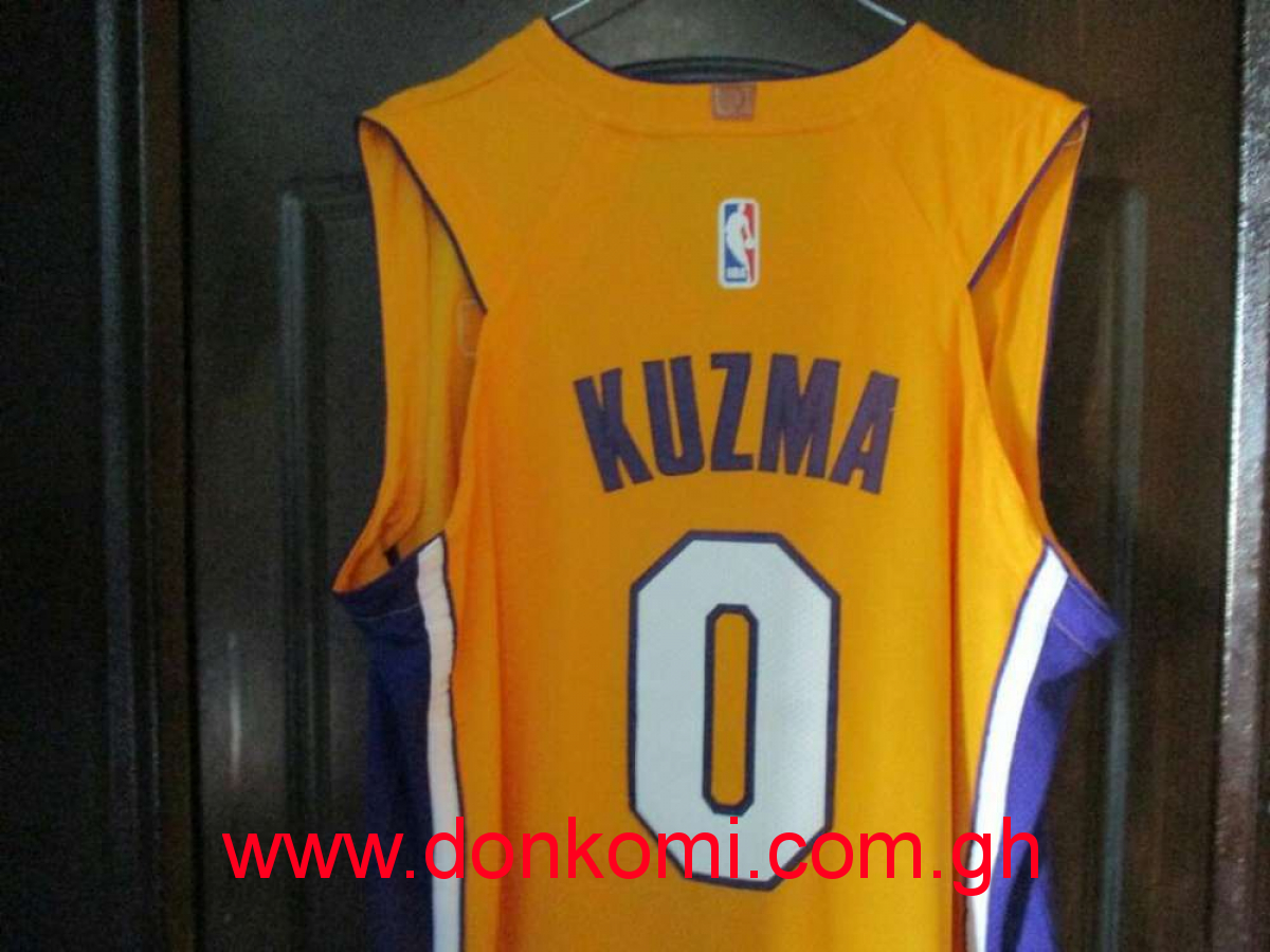 Kuzma NBA Basketball Jersey