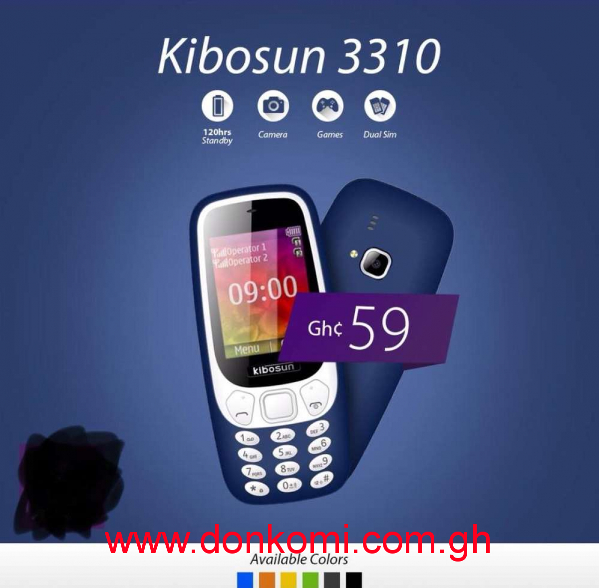 KIBOSUN 3310