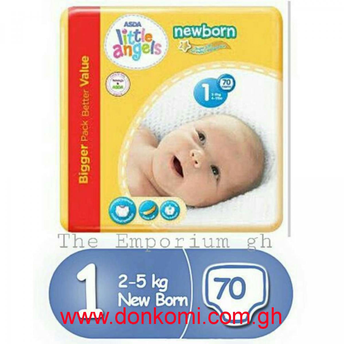 Little Angels Baby Diaper Size 1 ( 70pcs )