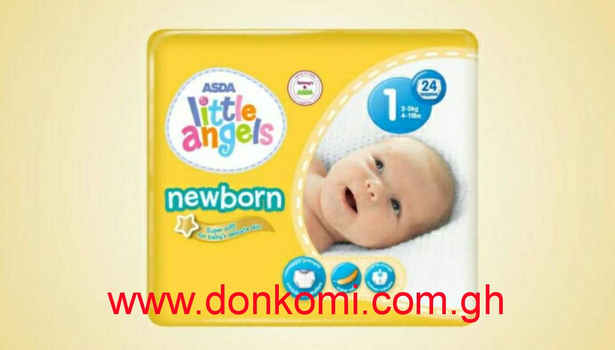 Little Angels Baby Diaper Size 1 ( 24pcs )