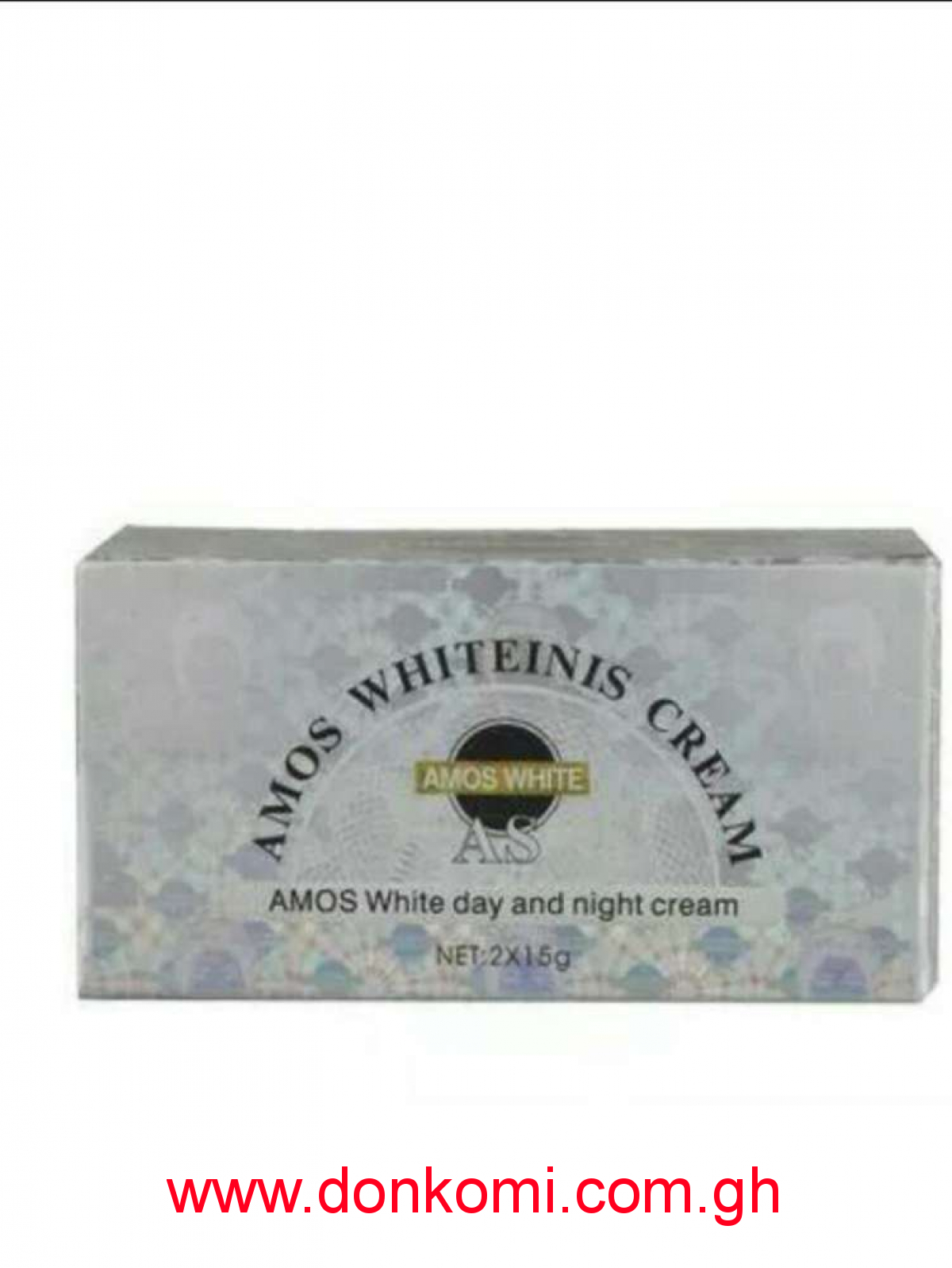 Amos white facial cream 2in1