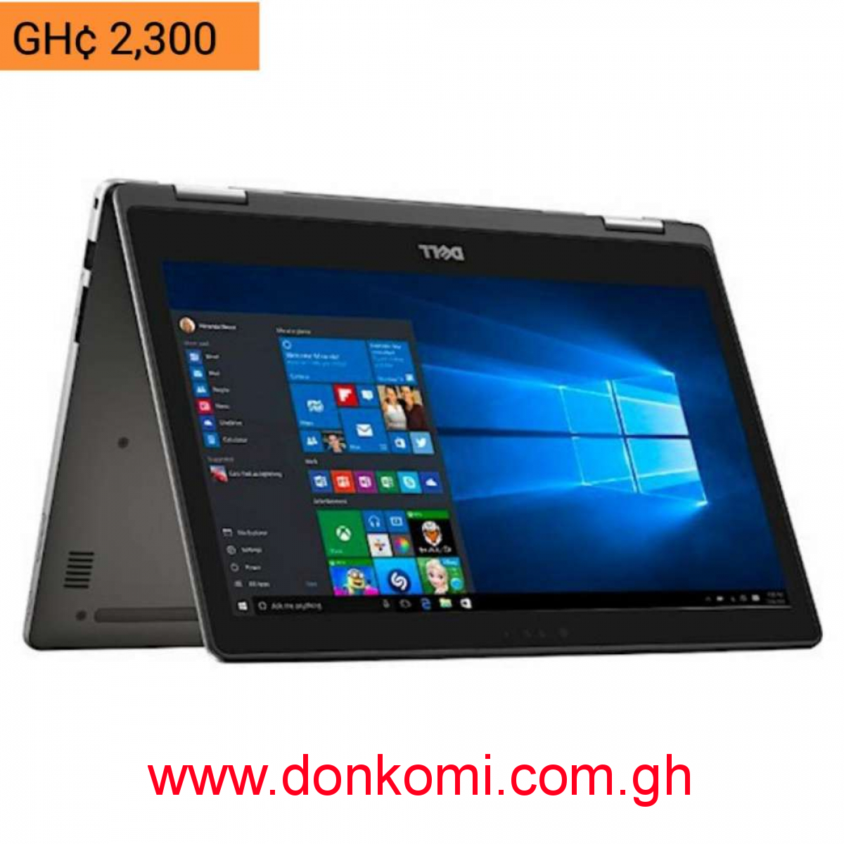 Dell Inspiron core i3 7th generation, 1TB HDD, 8GB RAM, touch, x360