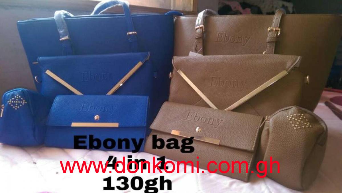 Ebony hand bag