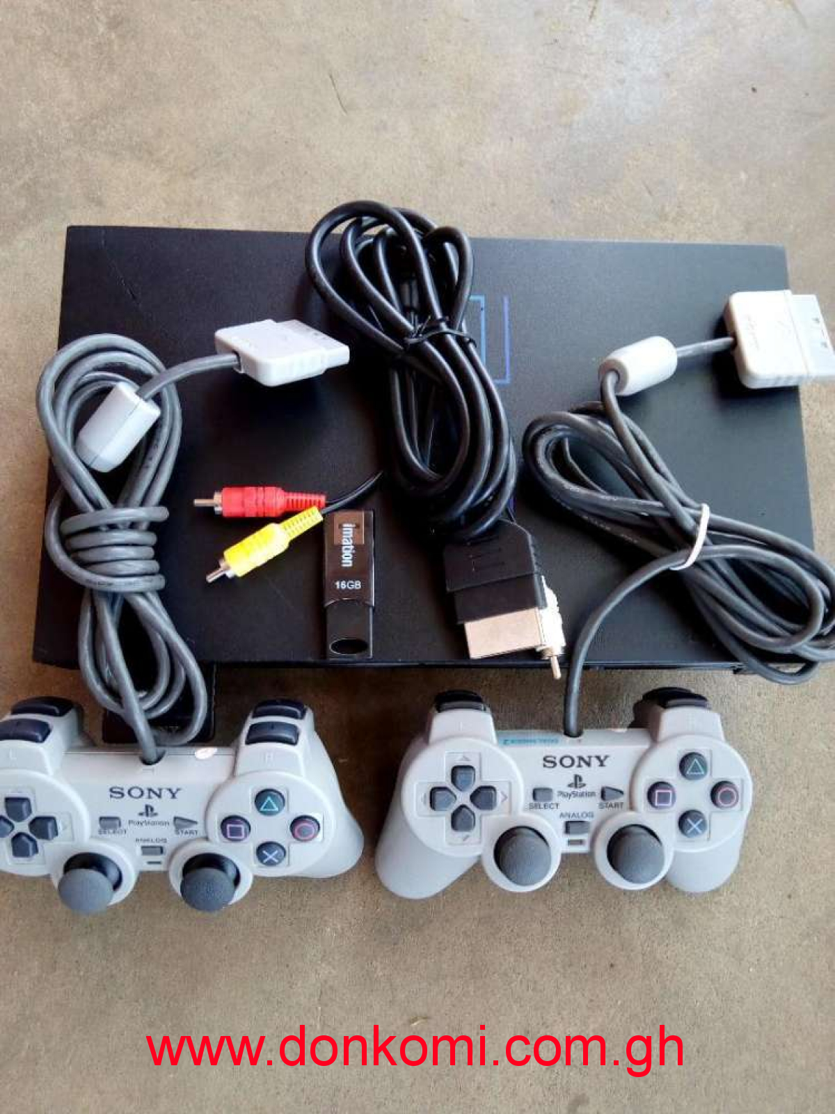 Ps2 set loaded+10games 2pads