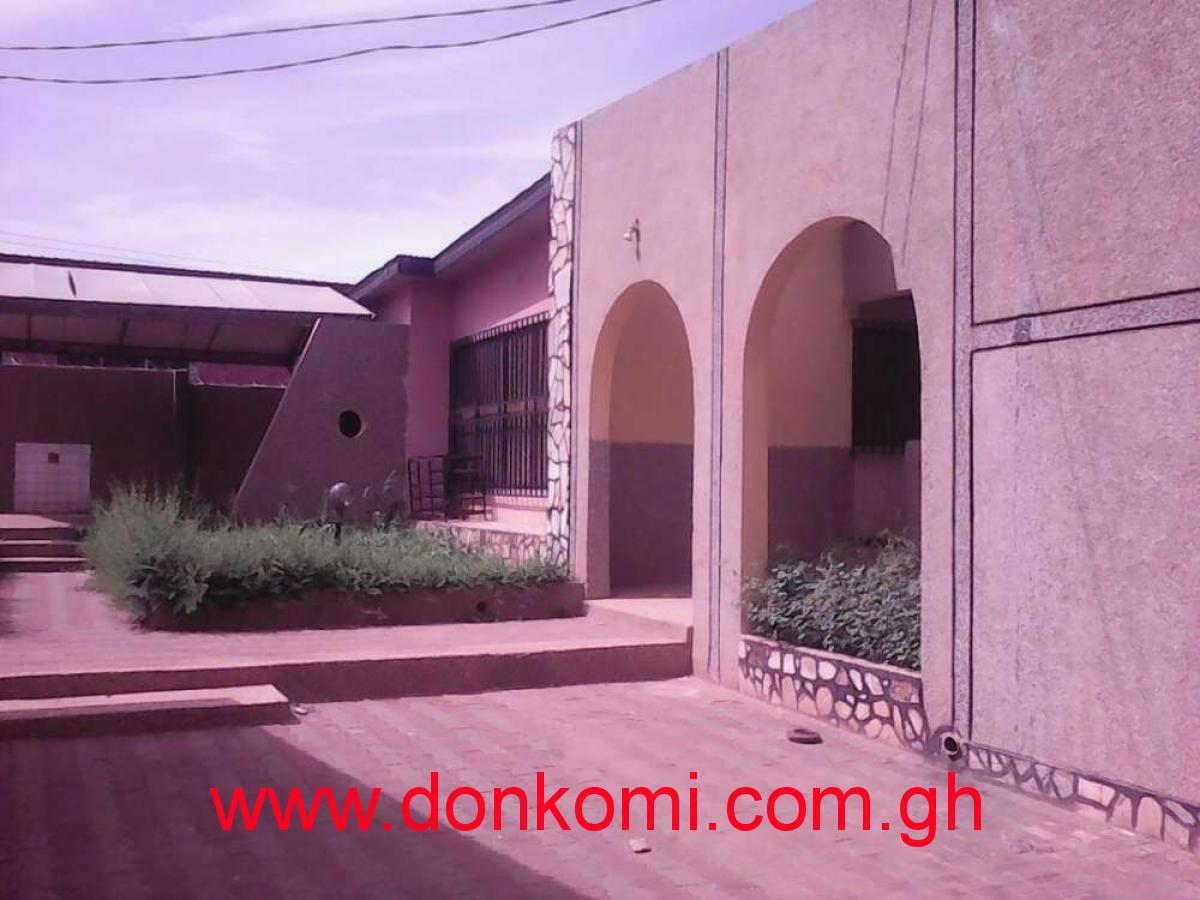 4 bedroom s/c at gbawe zero house