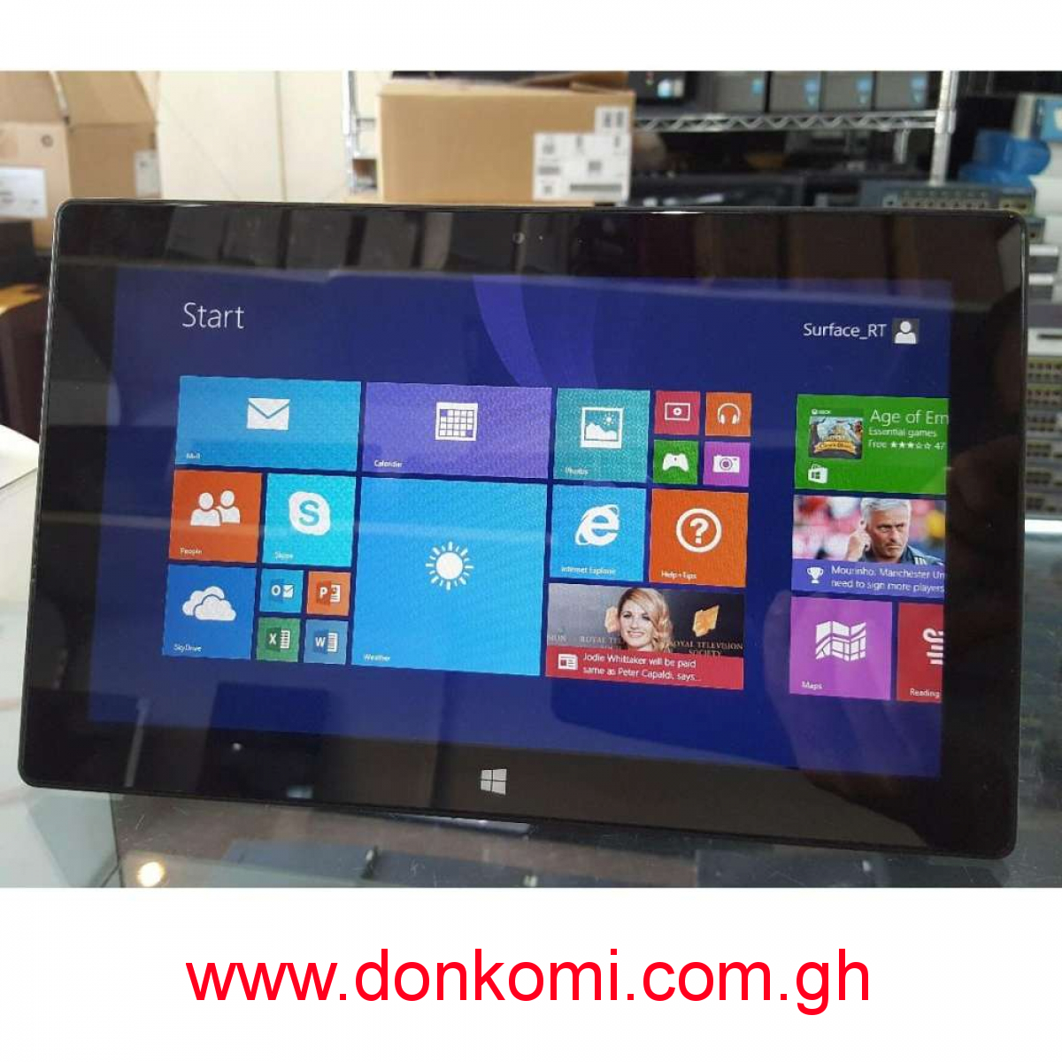 Microsoft surface RT PC Tablet