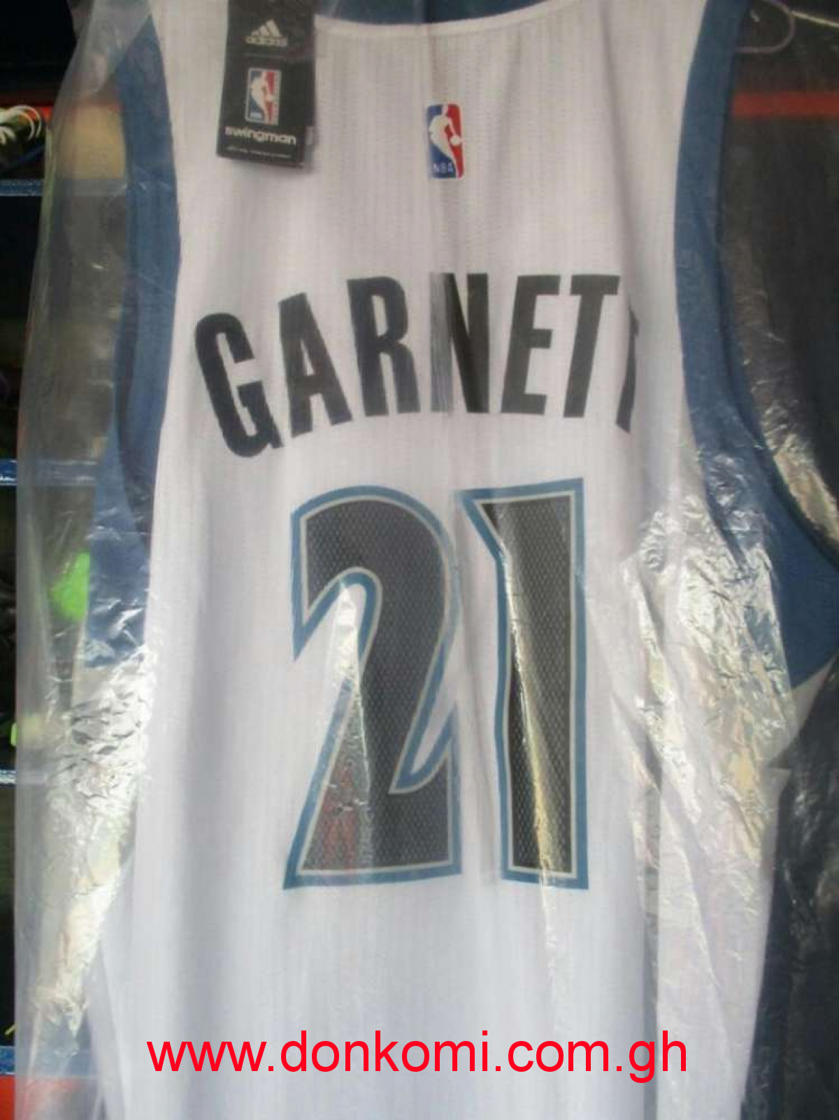 KG NBA Basketball Jersey