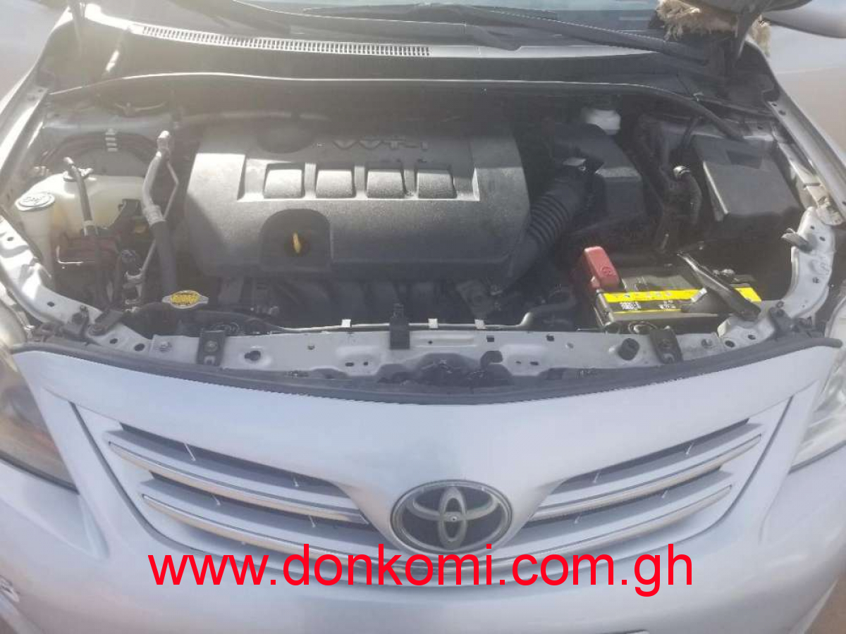 Toyota Corolla 2013 model