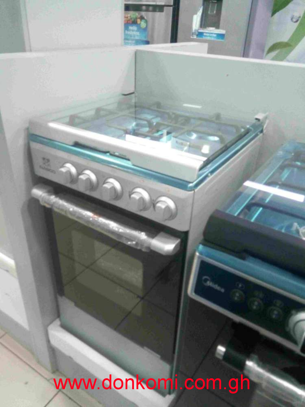60 SILVER NASCO GAS COOKER 4B
