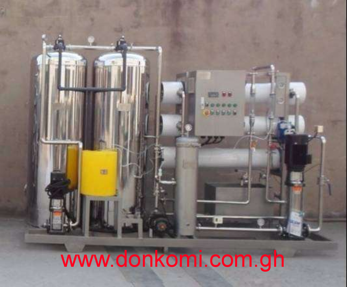 R.O machines for water treatment