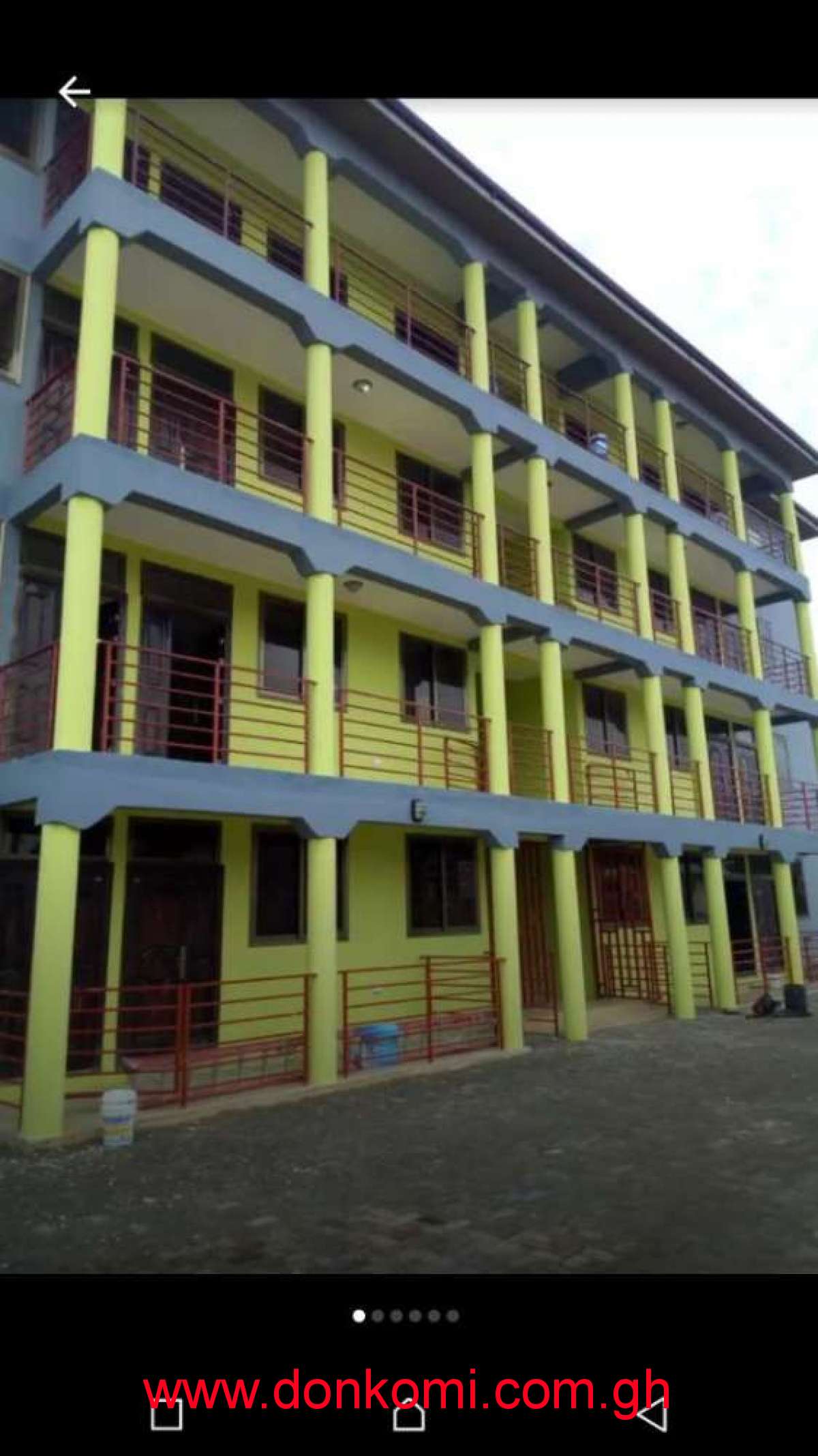A newly built 3bedroom apartment