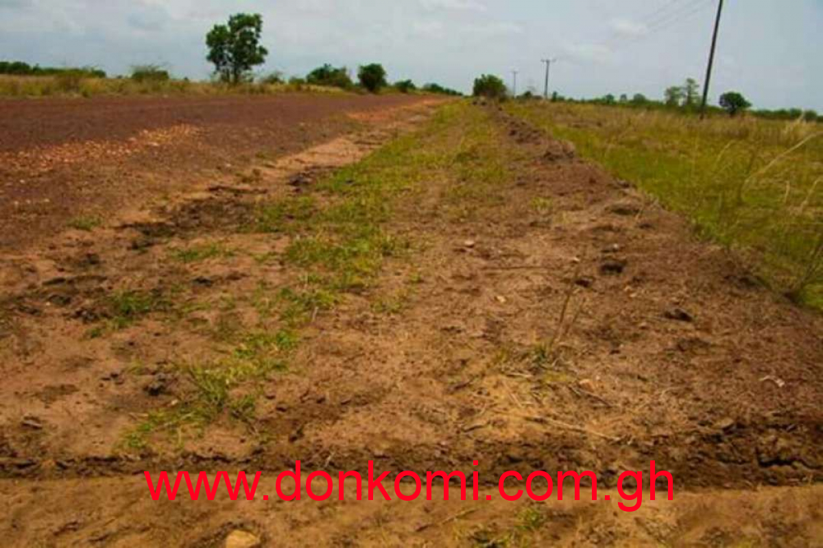 Land for sale at Mampong( Near the Vasity_ KNUST)