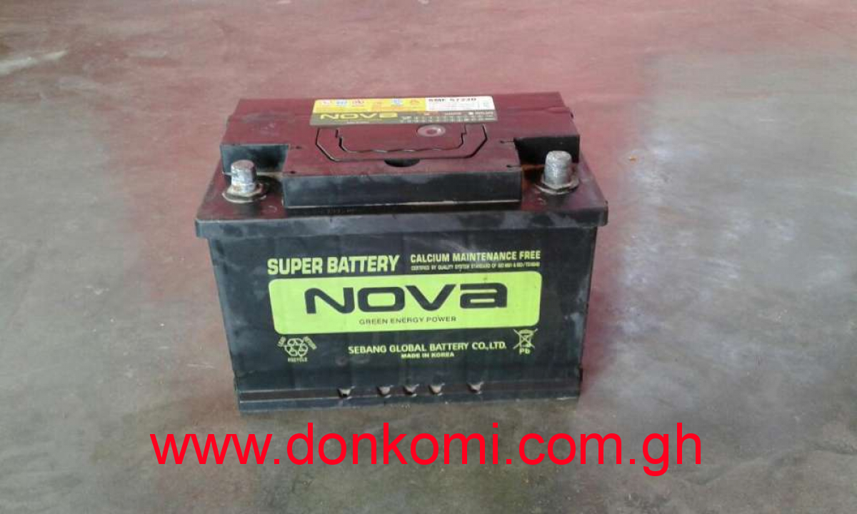 15 plate Nova car battery 75AH