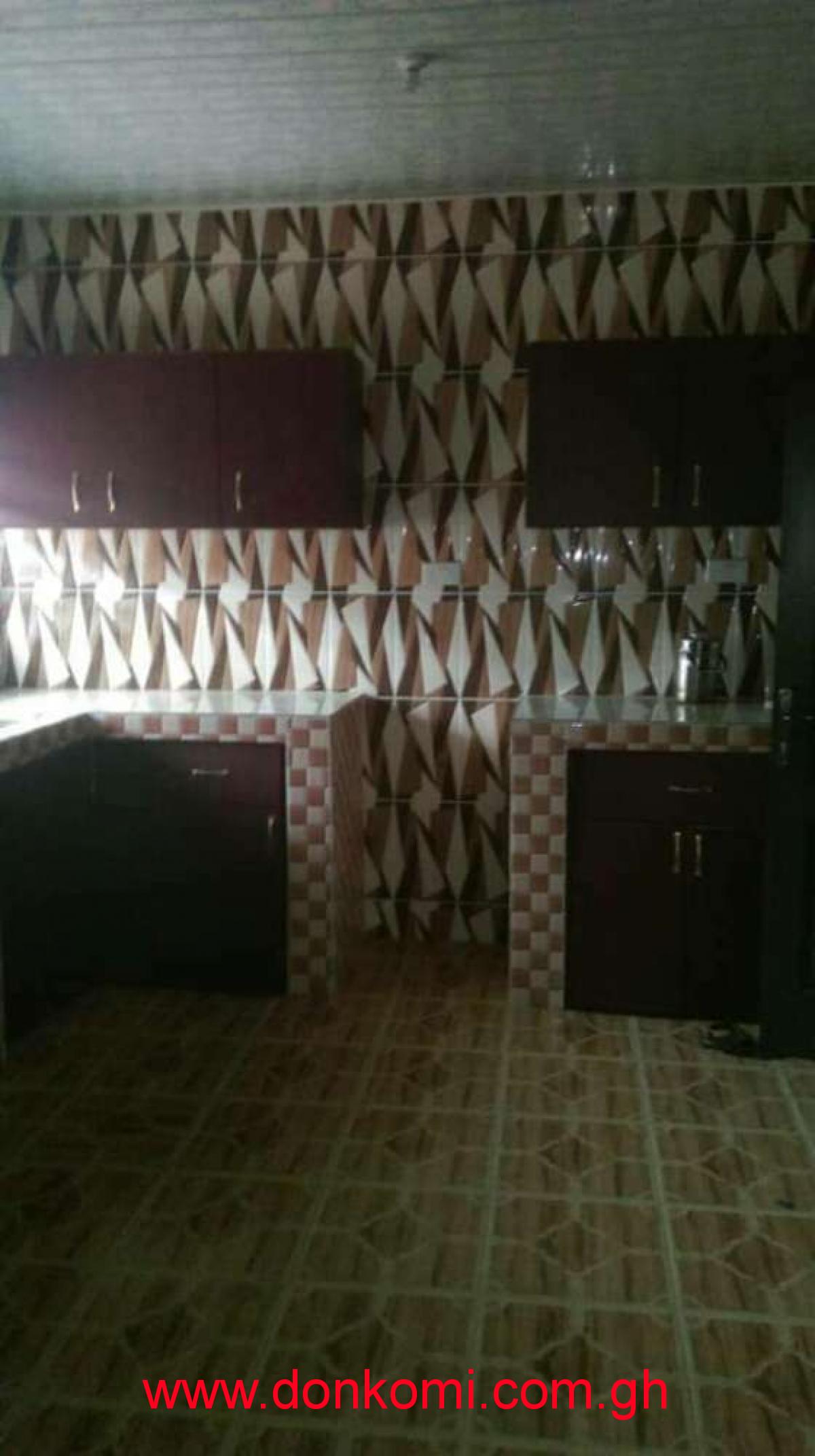 4bedroom self 4 rent Pokuase Amamole