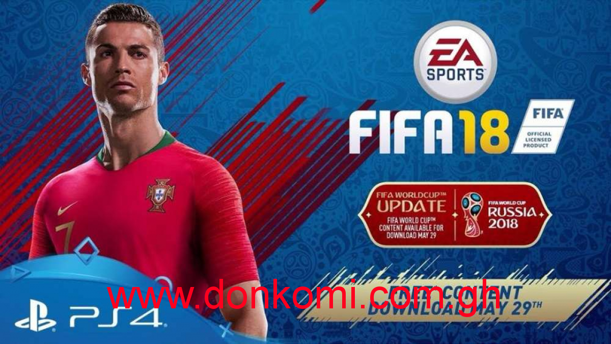 FIFA 18 World Cup 2018 Update