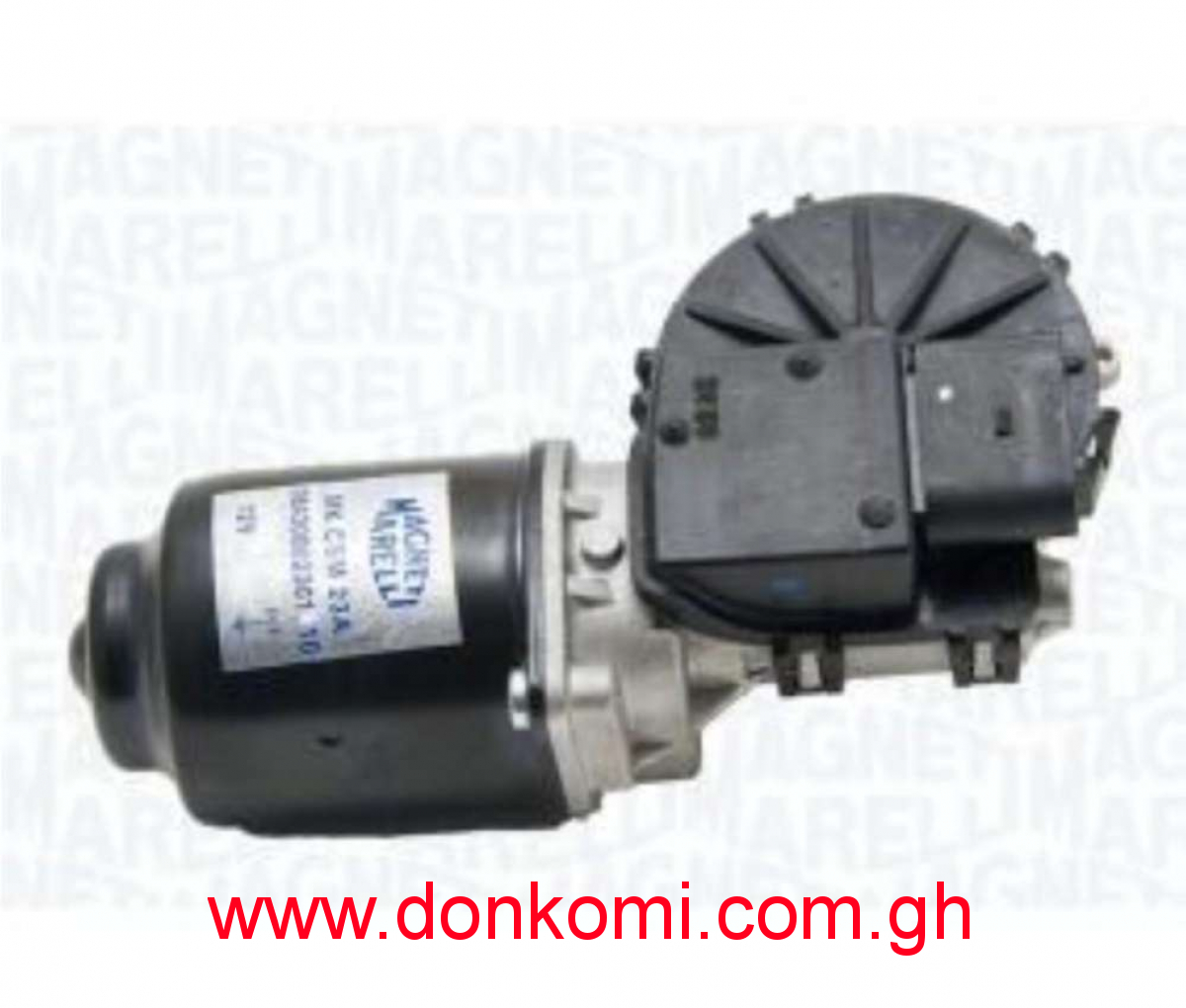 Fiat Wiper motor with hinges