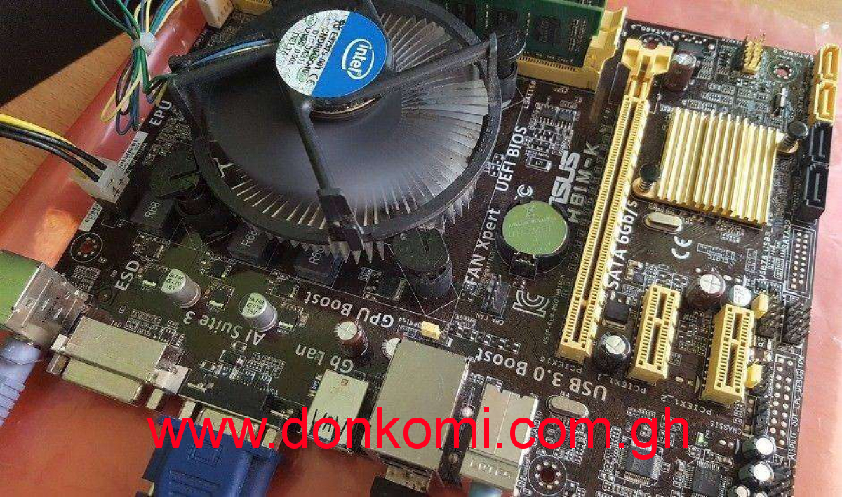 Asus Mobo Plus Core i7 4th Gen