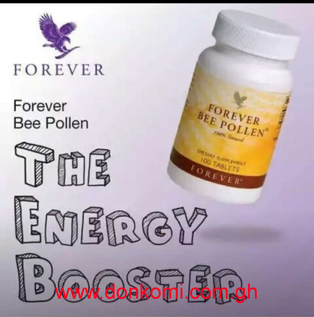 Energy Booster Natural Products.