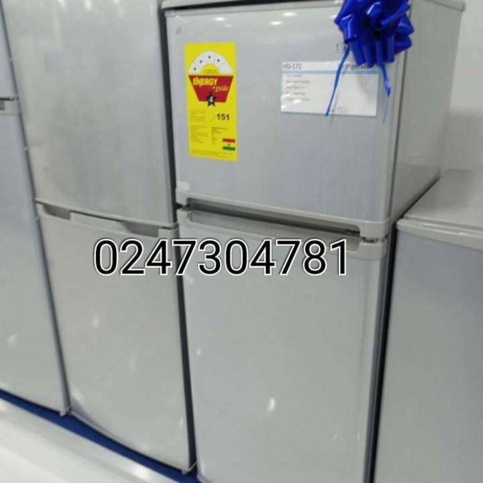 Turbo Midea Fridge HD172 freezer
