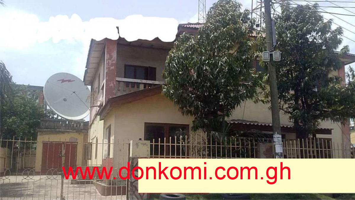 A 17 Room Storey with Boys Quarters is for sale at Circle, Odo rice