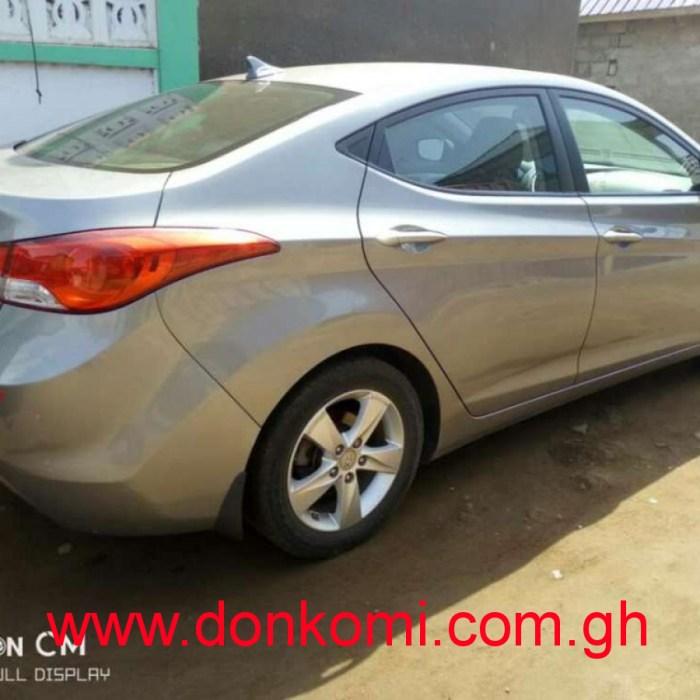 Hyundai Elantra 2012 model